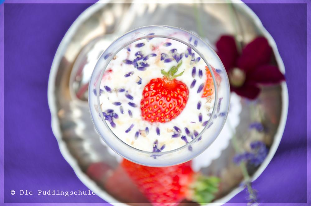 Lavendel-Dessert