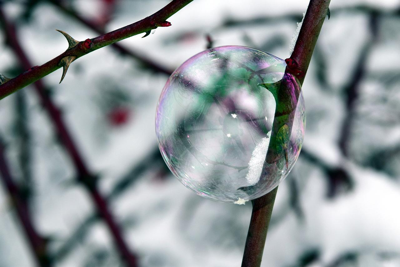 Hochsensibilität Seifenblase