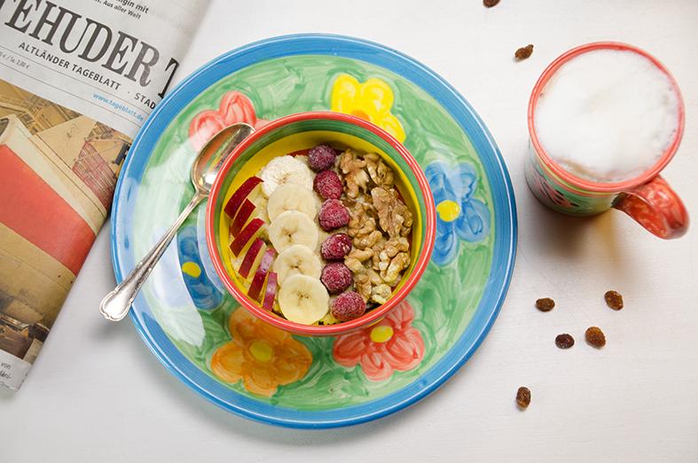 Frühstücks-Hirsebrei