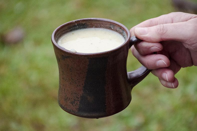 Blumenkohl-Cremesuppe