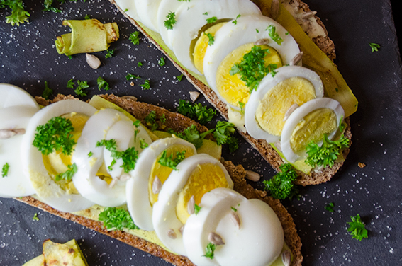 Bauernbrot mit Zucchini