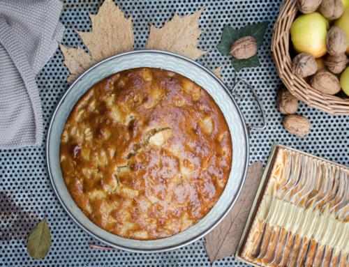 Apfel-Rührkuchen mit Olivenöl