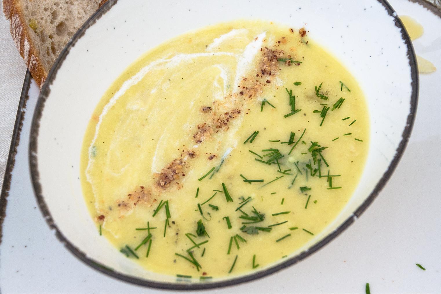 Pastinaken-Kartoffel-Cremesuppe